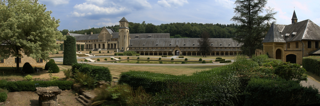Abbey of Orval, Belgium