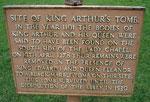 Alleged tomb of Arthur in Glastonbury