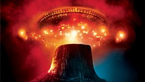 Scene from Steven Spielberg's Close Encounters of the Third Kind