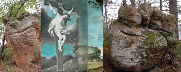 ALCOR and Fist stone compared to Boudet's combined Pieta