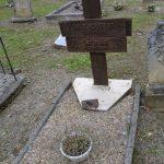 Jos Bertaulet died in 1995 and was buried in the cemetery of St Benoît