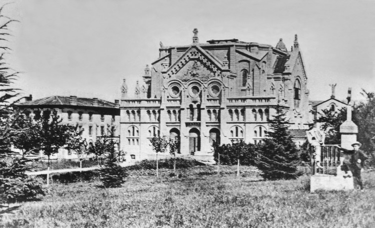Monastery of Prouille in 1905