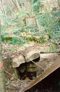 Access to the vault at Notre Dame de Marceille